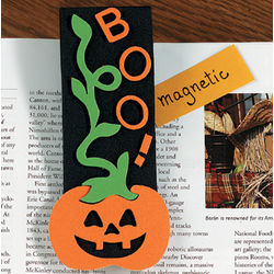 Foam Halloween Bookmark Magnets Craft Kit