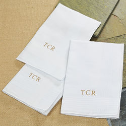 Personalized Men's Handkerchiefs