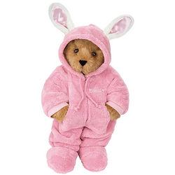 """15"""" Hoodie-Footie™ Bunny Teddy Bear"""