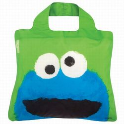 Sesame Street Cookie Monster Reusable Shopping Bag