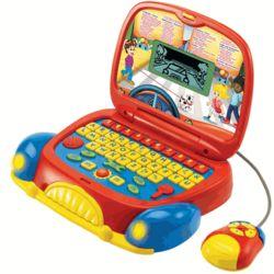 Bilingual Laptop Toy