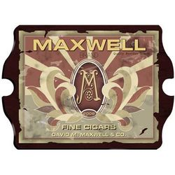 Personalized Monogram Cigar Label Pub Sign