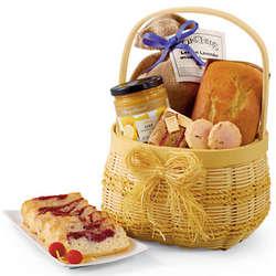 Lemon Lavender Goodies Gift Basket
