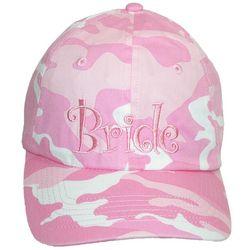 Bride Pink Camouflage Cap
