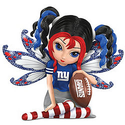 Little Bit of Magic New York Giants Fairy Figurine