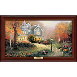 Thomas Kinkade Autumn Blessings Wall Art