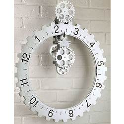 Hands-Free Industrial Wall Clock