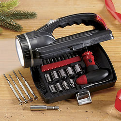 26-Piece Flashlight Tool Kit