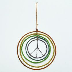Colorful Hoops Peace Mobile
