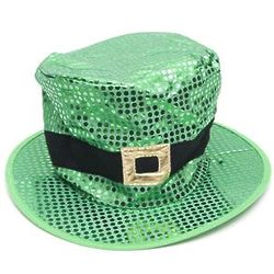 Sequin Jumbo Leprechaun Hat