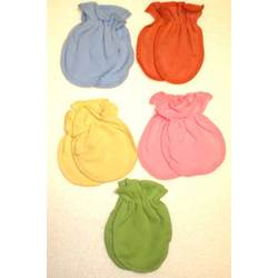 Organic Cotton Newborn Scratch Mitts