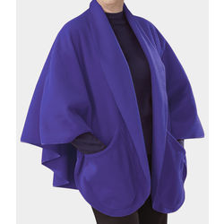 Women's Pocket Fleece Poncho