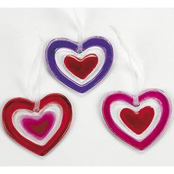 Heart Ornament Set