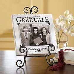 Personalized Graduation Photo Tile