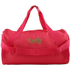 Personalized Children's Duffle Bag
