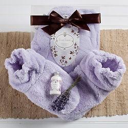 Lavender Spa Booties