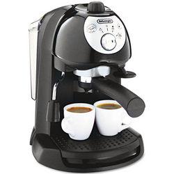 Black Retro Style Espresso Maker