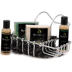 Organic Soap Caddy Gift Basket