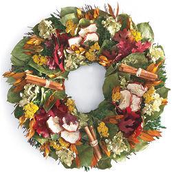 Apple and Cinnamon Wreath
