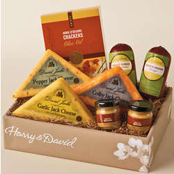 Sausage, Cheese and Crackers Gift Box