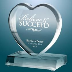 Personalized Exceptional Big Heart Award