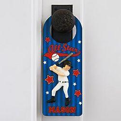 Personalized Kid's Door Hanger