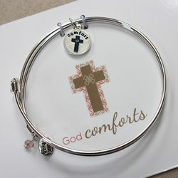 Cross Comfort Keepsake Bangle in Personalized Gift Box