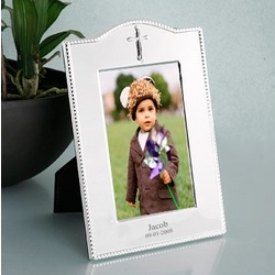 Personalized Baby Sliver Finish Frame