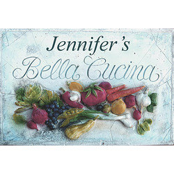 Personalized Bella Cucina Cutting Board