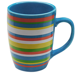 Two and a half men striped coffee mug - Two and a half men coffee mug ...