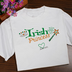 Personalized Irish Princess Youth T-Shirt