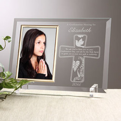 Confirmation Blessings Personalized Picture Frame