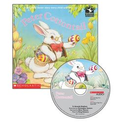 Peter Cottontail Book with Read Along CD