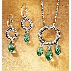 Sterling Silver Irish Claddagh Earrings