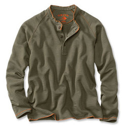 Men's Henley Sweatshirt