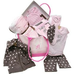 Deluxe Baby Girl Clothing Set