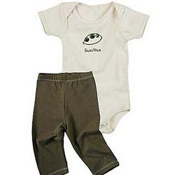 Sweetpea 6-12 Months Baby Body Suit and Leggings