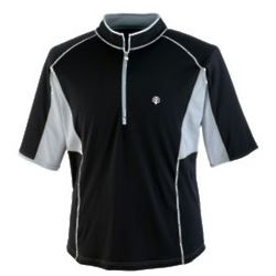 Men's Short-Sleeve Quarter-Zip UPF Splash Guard