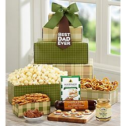 Mad About Dad Gourmet Gift Tower