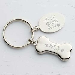 Personalized Dog Memorial Key Chain