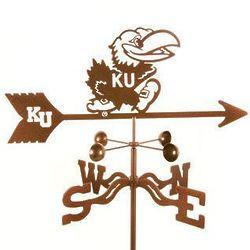 Kansas University Mascot Weathervane