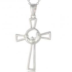 Claddagh Cross Necklace