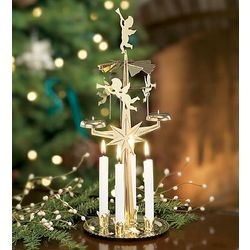 Candle Powered Spinning Angel Chimes