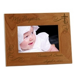 My Baptism Photo Frame