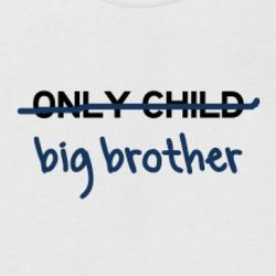 Only Child to a Big Brother Kids T-Shirt