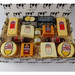 A Taste of Wisconsin Processed Cheese Gift Box