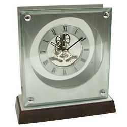 Piano Finish Skeleton Movement Pendulum Clock