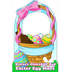 Personalized Easter Basket Standee
