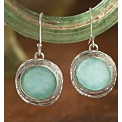 Roman Glass Earrings