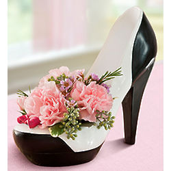 Stepping Out High Heel Floral Bouquet